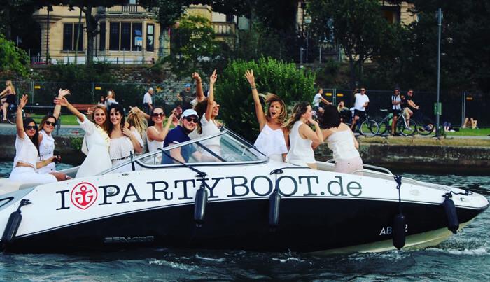 Partyboot Frankfurt Junggesellenabschied