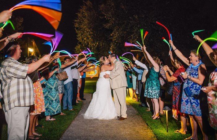 Knicklichter Hochzeitstanz