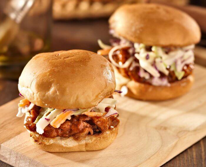 Mitternachtssnack Pulled Pork Burger