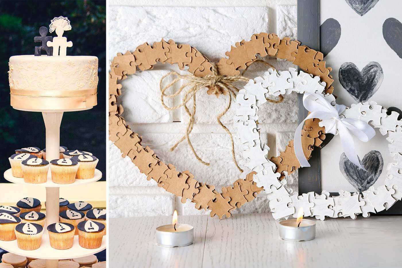 Hochzeitsmotto Puzzle