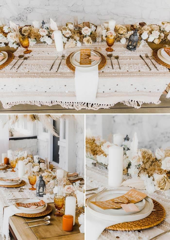 Hochzeit Ocker