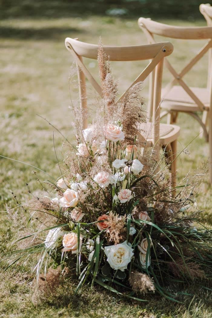 Hochzeit Pampasgras