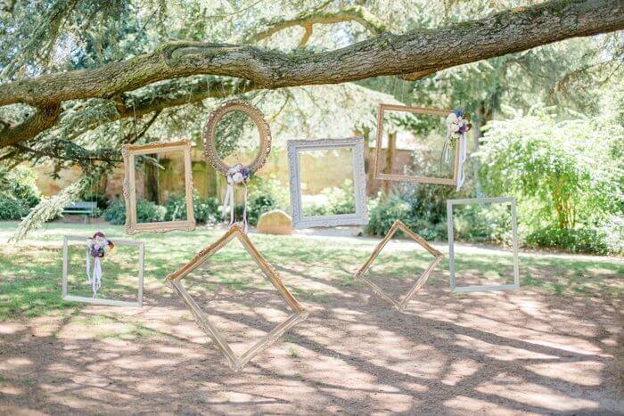 Fotobox Hochzeit Hintergrund