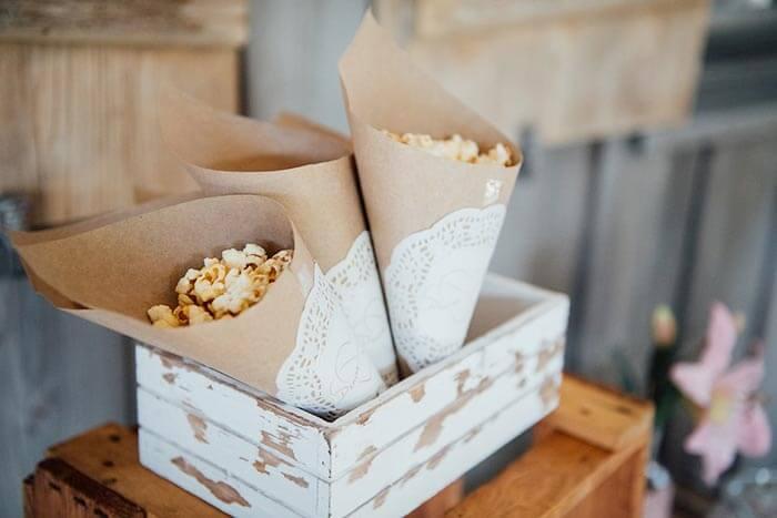 Popcorn Hochzeit