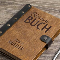 Holz Stammbuch