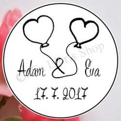Stempel Hochzeit Namen