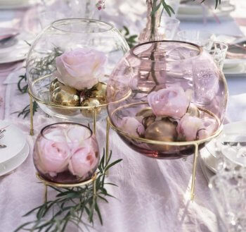 Hochzeits Tischdeko Mustertische