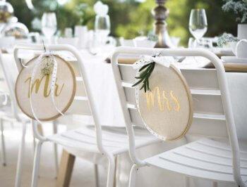 Mustertische Hochzeitsdeko