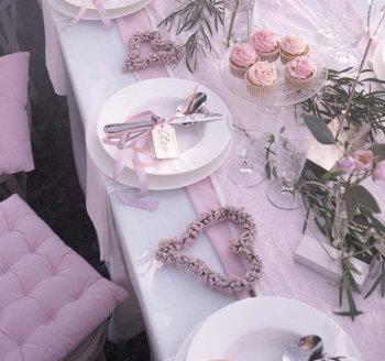 Tischdekoration Hochzeit Mustertische