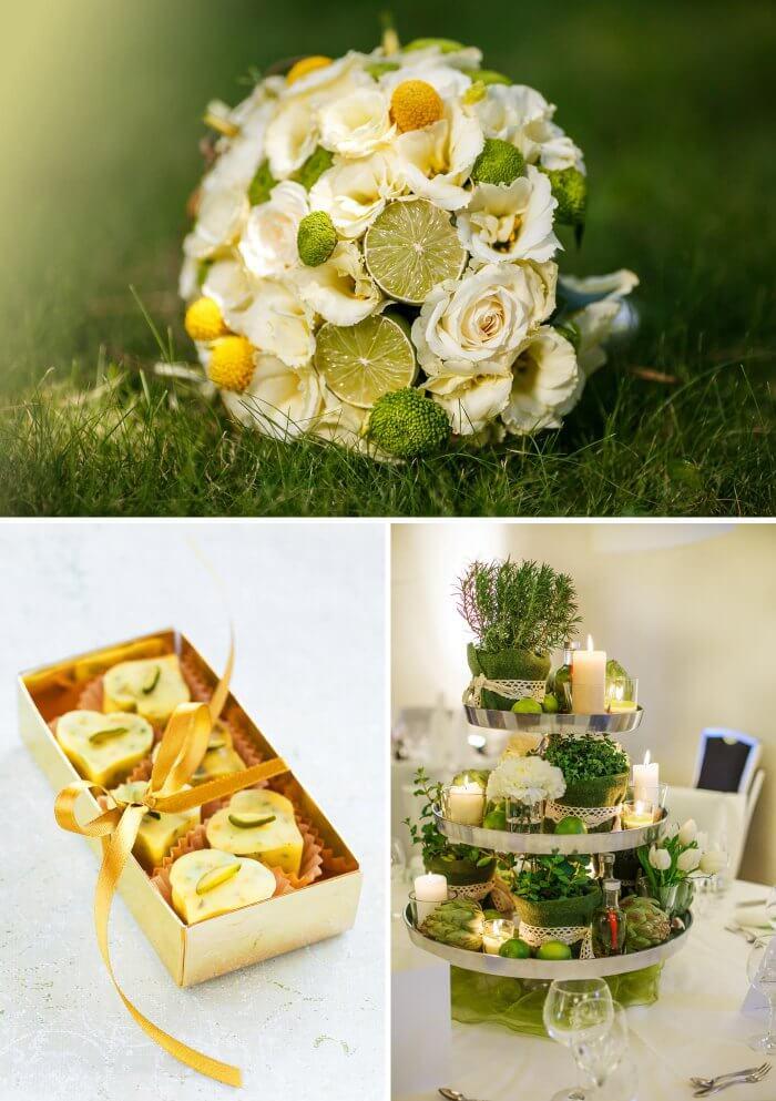 Hochzeit Limetten