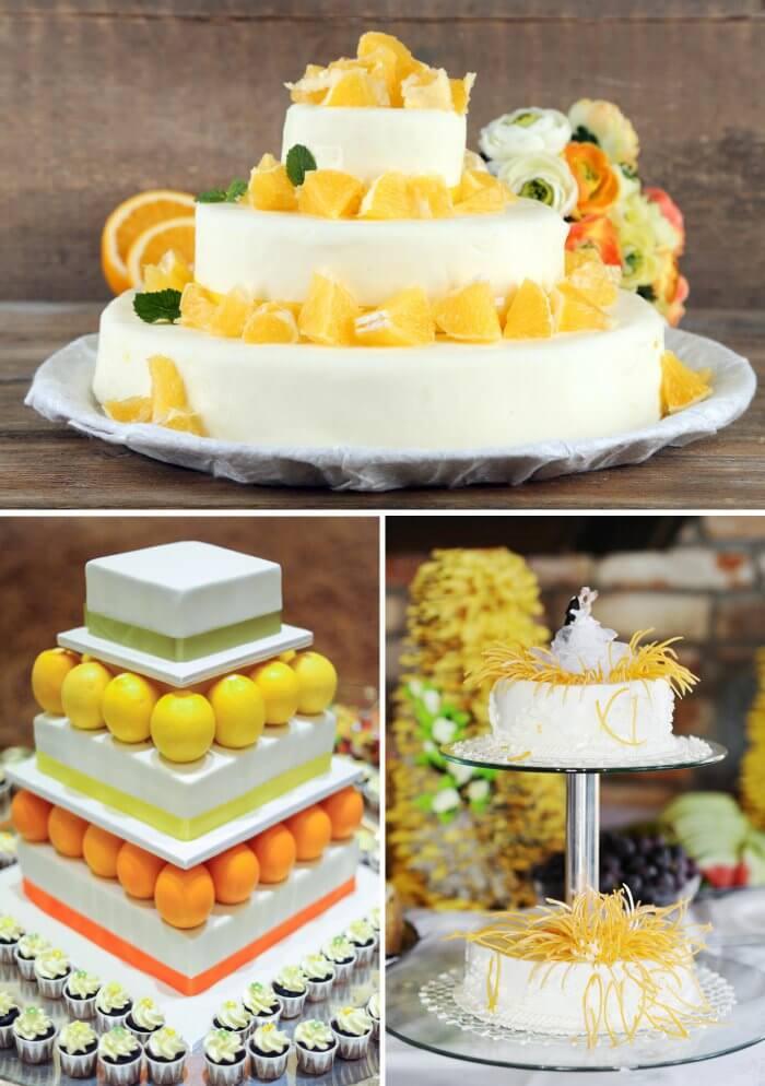 Hochzeit Orangen