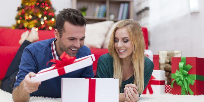 Romantische Weihnachtsgeschenke