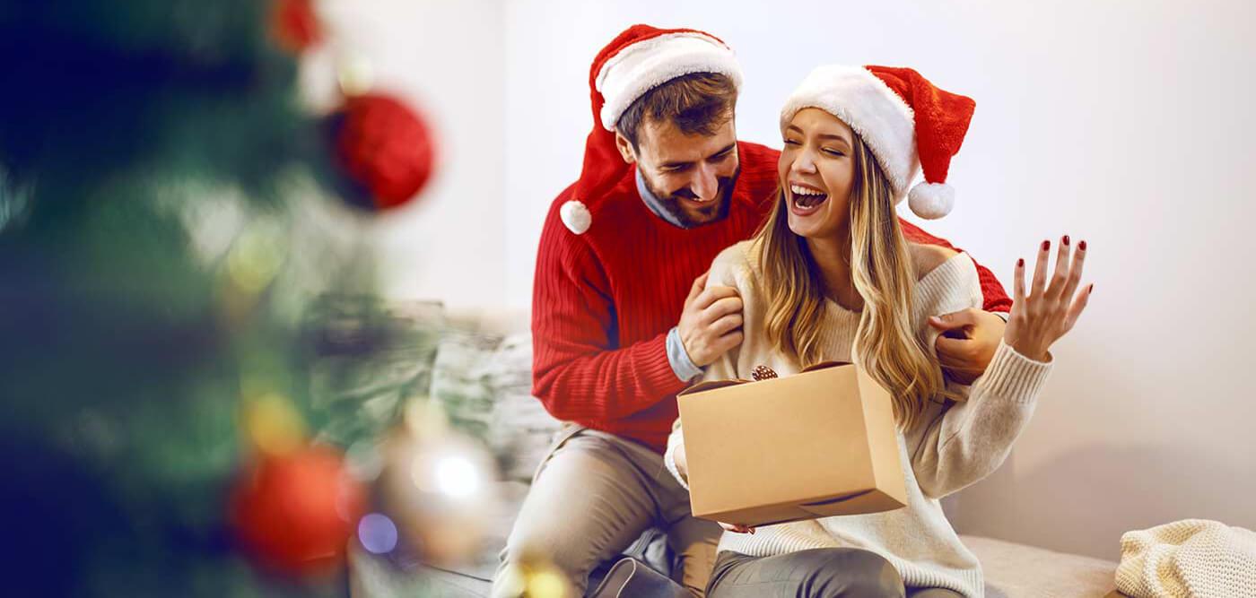 Weihnachtsgeschenk für den Partner