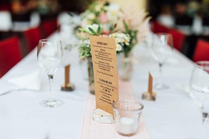 Hochzeitsablauf für Gäste
