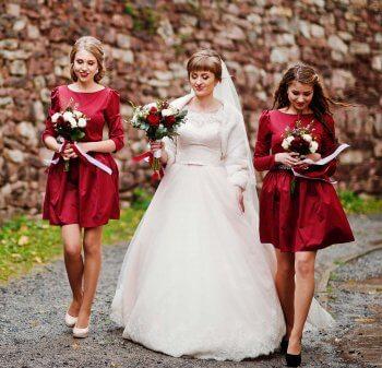 Brautjungfernkleider kurz
