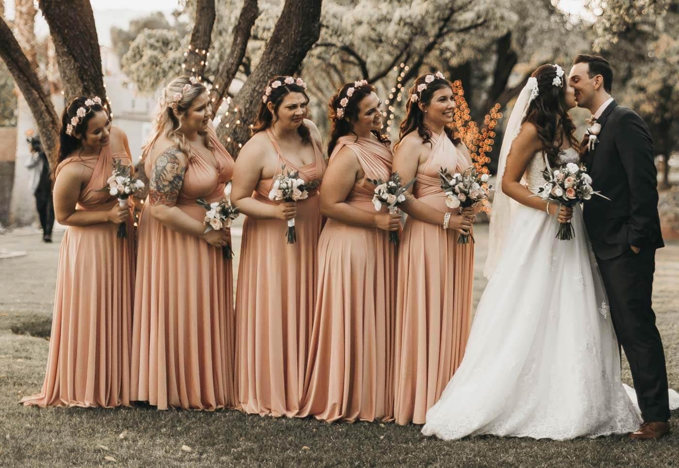 Kleid für Brautjungfer