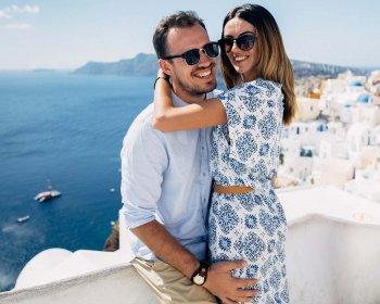 Flitterwochen Santorini