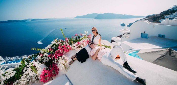 Santorini Flitterwochen
