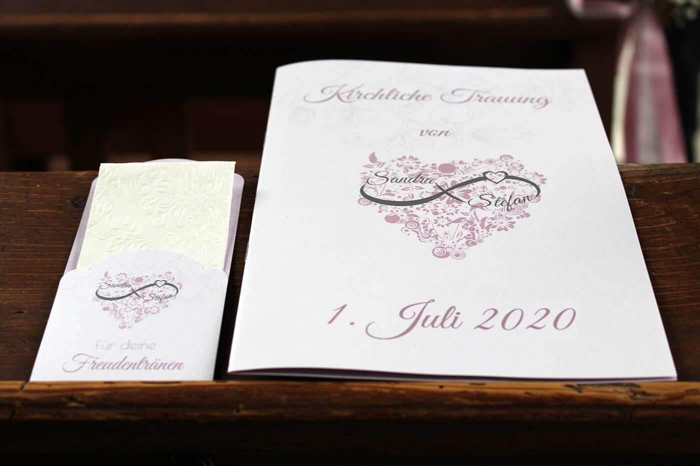 Freudentränen Taschentücher Hochzeit