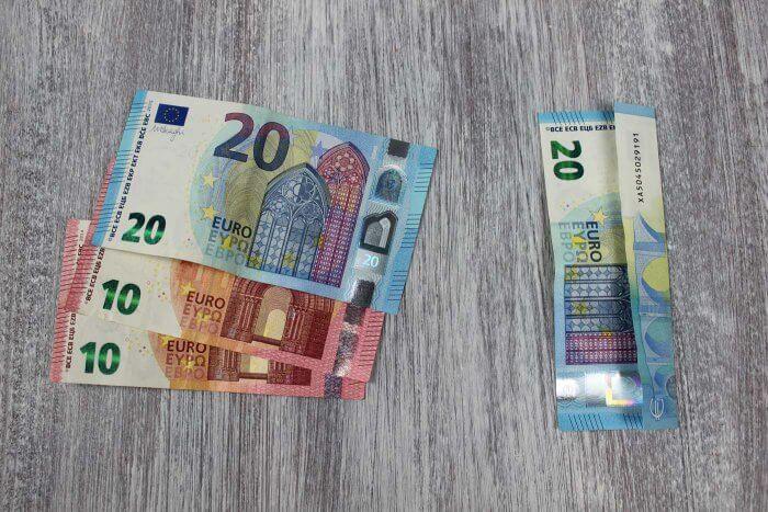 Geldgeschenk basteln zur Hochzeit Dosen