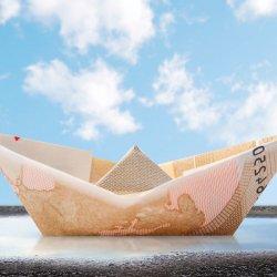 Geldgeschenk Schiff Hochzeit