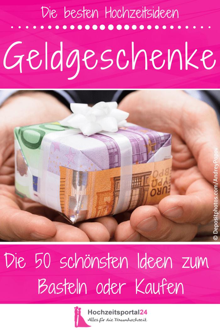 Geld verschenken Hochzeit