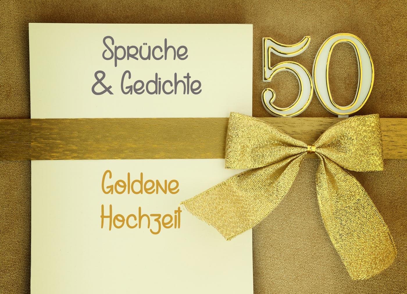 Sprüche zur Goldenen Hochzeit | Zitate | Gedichte | Bibelverse
