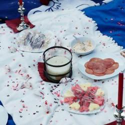Heiratsantrag Picknick Wiese