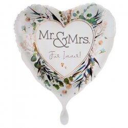 Folienballons Hochzeit