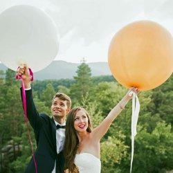 Luftballon Hochzeit