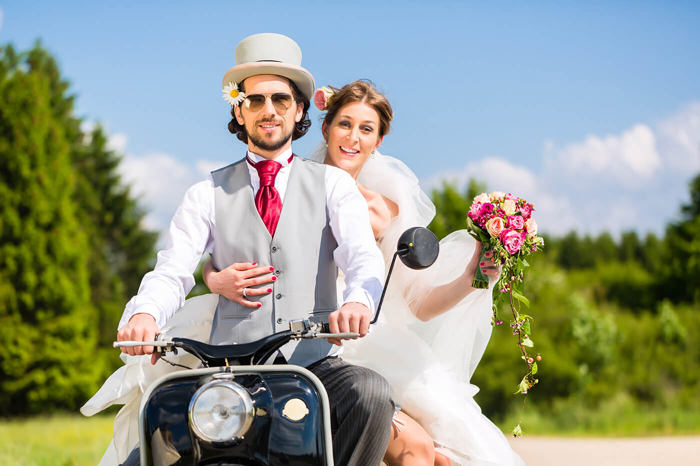 Hochzeitsbrauch Österreich Braut abholen