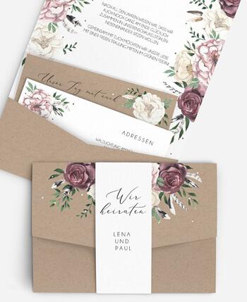 Einladung zur Hochzeit Text