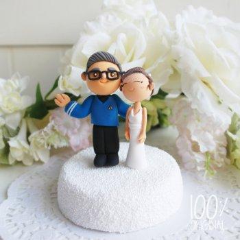 Cake Topper Hochzeit personalisiert