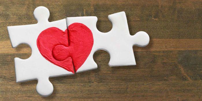 Hochzeitspuzzle