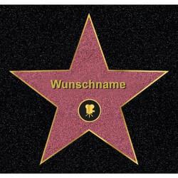 Fußmatte Stern: Hollywood