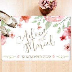 Fußmatte personalisiert Hochzeit
