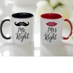 Moderne Hochzeitstassen