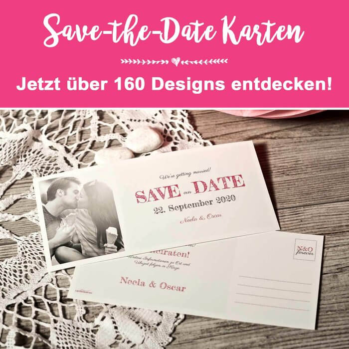 Kartenshop Save-the-Date