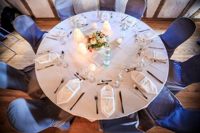 Runde Tische Hochzeit