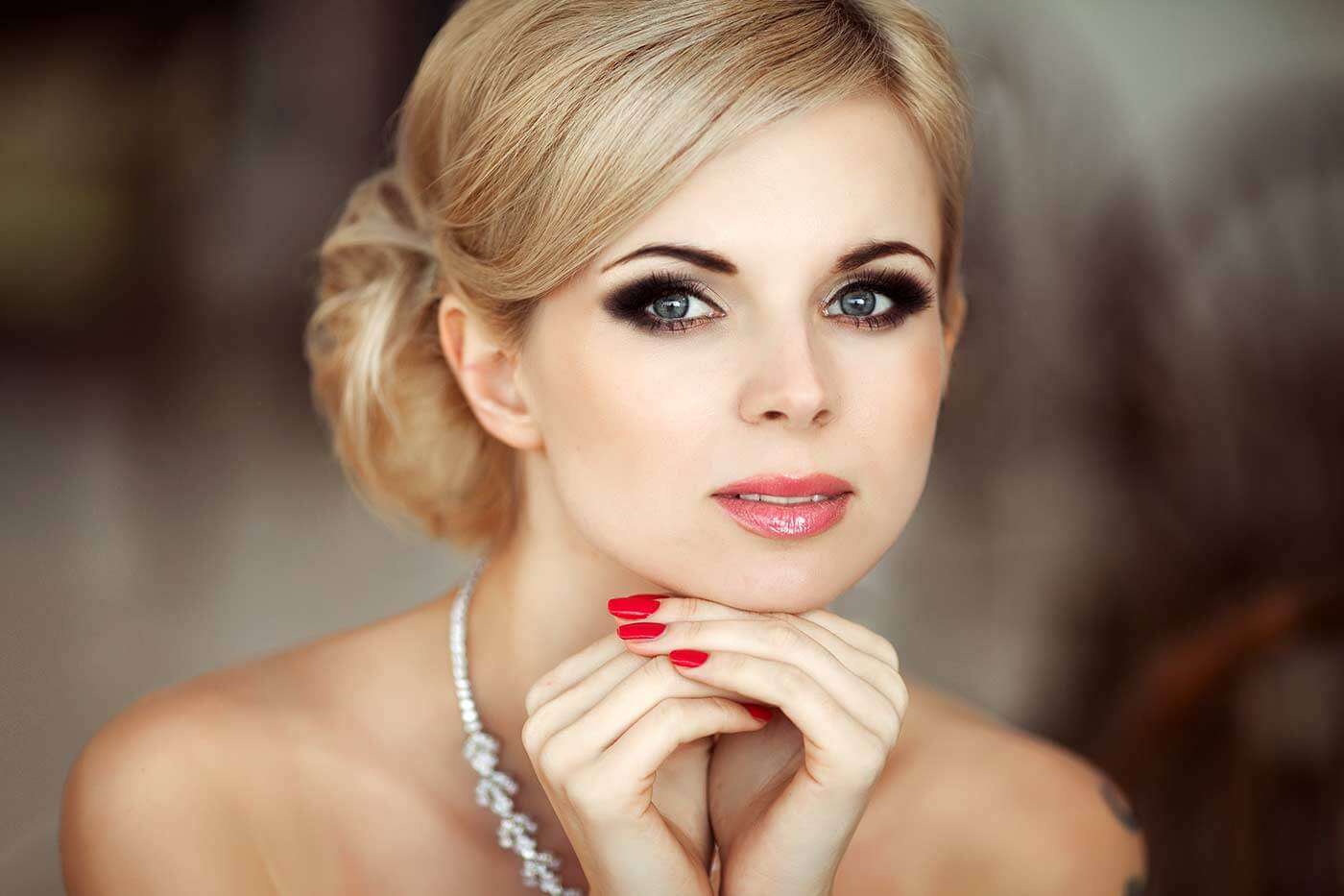 Augen Make-Up Hochzeit